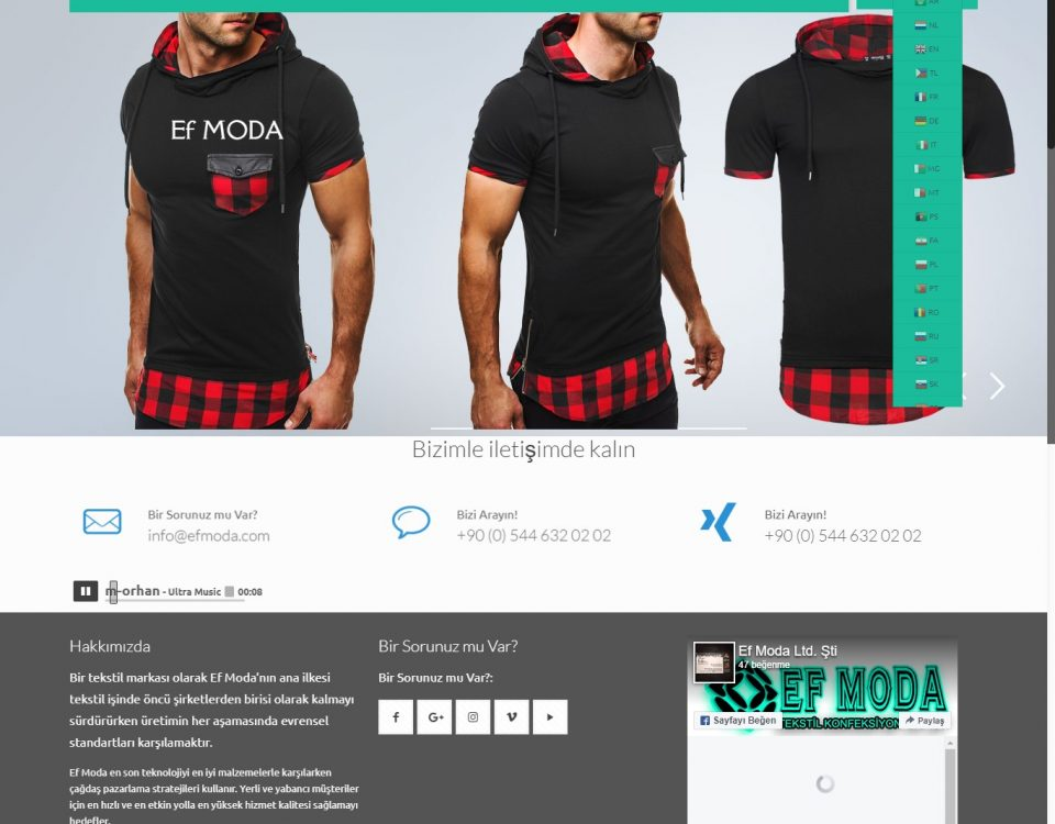 Ef MODA - Erkek Giyim Konfeksiyon